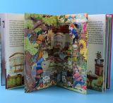 livres anglais de conte de fées de Sauter-UPS des animaux 3D
