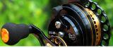 Floss-Bandspule Aluminium-der CNC-Karosserien-Qualitäts-reine handgemachte Fliegen-Fischen-Bandspule-9+1