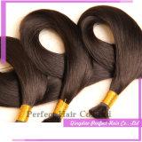 Massa peruviana grezza dei capelli di 100% Remy