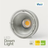 Diodo emissor de luz substituível COB Downlight Convenient de Modules 35W Round para Installation Aluminum Recessed