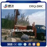 plataformas de perforación del receptor de papel de agua del martillo de los 200m DTH para la venta