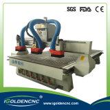 Router automático do CNC do eixo da mudança da ferramenta