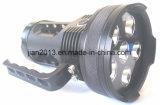 6X6w nachladbare 395nm UVled Handtaschenlampe für die bernsteinfarbige Jagd
