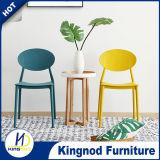 Sillas plásticas coloreadas PP sin brazo del diseño de los muebles del jardín