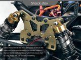 carro de monstruo de oro del guepardo RC de la velocidad rápida 80km/H