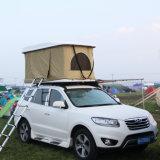 ガラス繊維の堅いシェルの手動クランクデザインの太陽屋根の上のテント