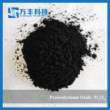 Ossido stabile del praseodimio della terra rara Pr6o11 di qualità per unire in lega
