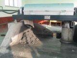 El lodo deseca la maquinaria
