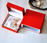 Caixa de presente de couro luxuosa da jóia (Ys349)