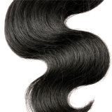 cabelo Curly Kinky do Afro malaio malaio Curly Kinky malaio do Weave do cabelo humano da extensão do cabelo do Virgin do cabelo 4bundles do Virgin 7A