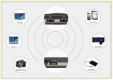 HD WiFi mini intelligenter Pocket Multimedia-Projektor für Haus/Büro/im Freien (T9)