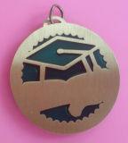 Chapeamento Epoxy personalizado do bronze da antiguidade da medalha do esmalte