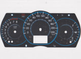 Tast-PC/Haustier RoHS Auto-Armaturenbrett-grafisches Testblatt-Panel anpassen