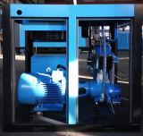 Wind, der industriellen Hochdruckschrauben-Luftverdichter abkühlt