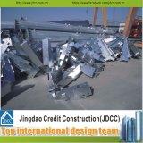 Structures métalliques galvanisées pour des constructions