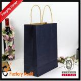 Custom Design Impreso compra de papel kraft bolsa de papel de retícula Hotsale Bolsas con mango