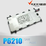 Bateria portátil móvel da bateria da capacidade elevada do OEM para Samsung P6200