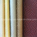 Cuir de meubles de Semi-UNITÉ CENTRALE de tapisserie d'ameublement (QDL-US017)