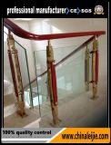 Balaustrada de vidro do aço inoxidável para o interior