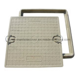 En124 C250 Plastic Sewer Manhole Cover with Lock (C / O600)