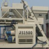 Maquinaria gêmea do misturador concreto do eixo Js1500