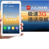 3G Tablet PC Quad Core CPU Android 4.4 OS 1024 * 600IPS 7 pulgadas Ax2