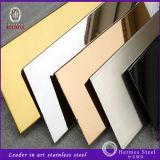 Precio inoxidable de la hoja de acero de Lastest 316L para el revestimiento de madera decorativo de la pared