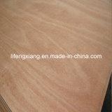 Madera contrachapada de Okoume del grado de BB/CC para los muebles y el embalaje
