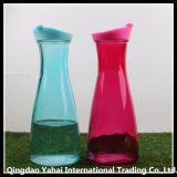 Ajustar o frasco de vidro do armazenamento com tampa plástica