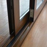Elevador de alumínio do frame do perfil da ruptura térmica revestida do pó da alta qualidade Kz214 & porta deslizante com o obturador dentro do vidro
