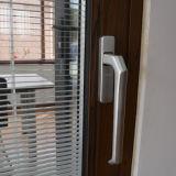 Elevatore di alluminio del blocco per grafici di profilo della rottura termica rivestita della polvere di alta qualità Kz214 & portello scorrevole con l'otturatore all'interno di vetro