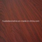 Papel de madera de la melamina del grano, papel decorativo para el laminado, MDF, puerta, diseño de la nuez