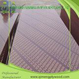 Le film du noyau 15mm de peuplier ou de bois dur a fait face au contre-plaqué imperméable à l'eau de coffrage