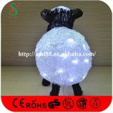 Agneau de l'éclairage DEL de décoration de Noël