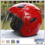 분홍색 숙녀 (OP202가)를 위한 열리는 마스크 기관자전차 헬멧