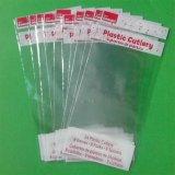 Las bolsas de plástico transparentes de los PP para los juguetes, papel, electrónica, arropando