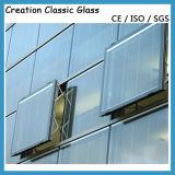 vidrio inferior fuera de línea de E, vidrio aislado para la ventana de Buliding