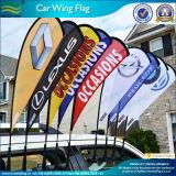 Флаги крыла автомобиля рекламы, флаг крыла автомобиля Teardrop (J-NF08F01020)
