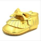 革屋内幼児の赤ん坊靴02
