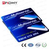 MIFARE標準的なEV1 4k、4バイトUidのスマートなPVCカード