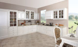 De Amerikaanse Standaard Bruine Keuken van pvc (zc-022)