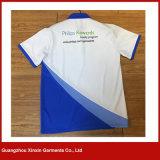 Do t-shirt curto unisex do polo da luva de 2017 produtos novos costume barato (P147)