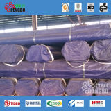 Tubulação de aço sem emenda de carbono dos tubos de conduto da caldeira de ASTM A210