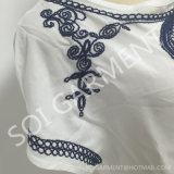 Neueste Rayon Emborider Form-Bluse für Frauen (BL-277)
