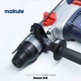Makute 900W SDS eléctrico de función triple más el taladro de martillo rotatorio
