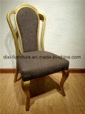 높은 뒤 고급 호텔 크라운 의자
