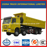 Caminhão de descarregador de Sinotruk HOWO 8X4 25-30m3 12-Wheel