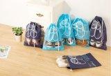 Polyesterdrawstring-Beutel für Schuhe und Speicherung