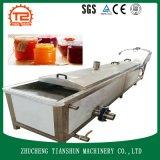 Máquina de la pasterización de la fruta y verdura del zumo de fruta
