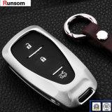 крышка ключевого случая автомобиля алюминиевого сплава от 2 до 5 кнопок для Chevrolet